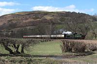 Llangollen Railway - BR 7822, Glyndyfrdwy.