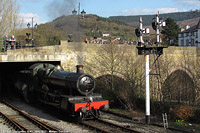 Llangollen Railway - BR 7822, Llangollen.