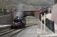 Llangollen Railway - BR 80072, Llangollen.