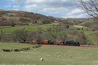 Llangollen Railway - BR 80072, Glyndyfrdwy.