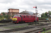 Severn Valley Railway - BR D821, Kidderminster.