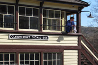 Llangollen Railway - SignalBox, Glyndyfrdwy.