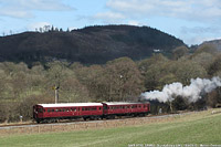 Llangollen Railway - GWR AT92+SRM93, Glyndyfrdwy.