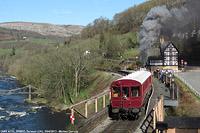 Llangollen Railway - GWR AT92+SRM93, Berwyn.