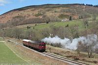 Llangollen Railway - GWR SRM93+AT92, Glyndyfrdwy.
