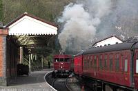 Llangollen Railway - GWR SRM93+AT92, Llangollen.