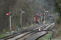 Llangollen Railway - SignalBox, Llangollen.