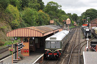 Severn Valley Railway - BR M52064, M50933, Bewdley.