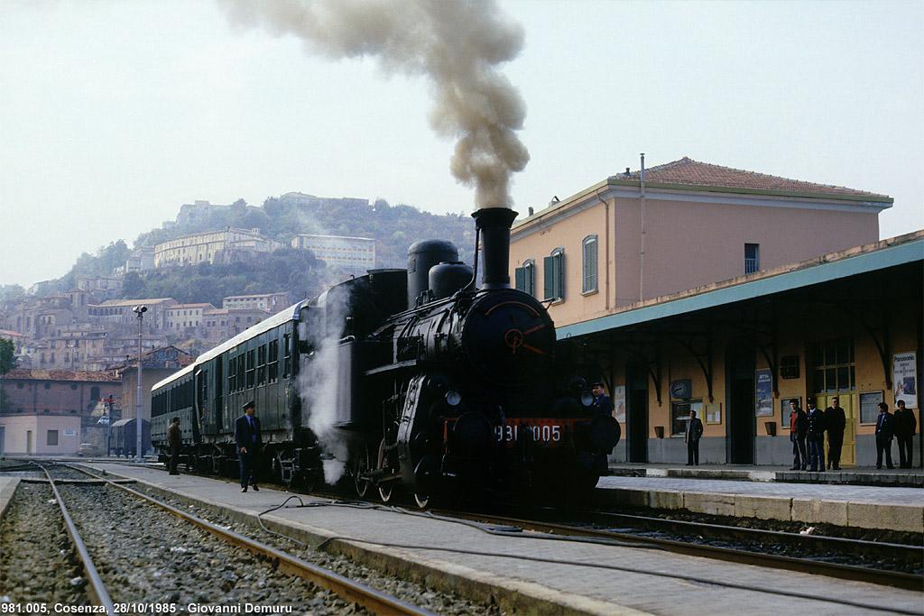 Paola-Cosenza, 1985 - Cosenza.