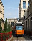Tram a Milano - Via Marconi.
