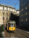 Tram a Milano - Via Turati.