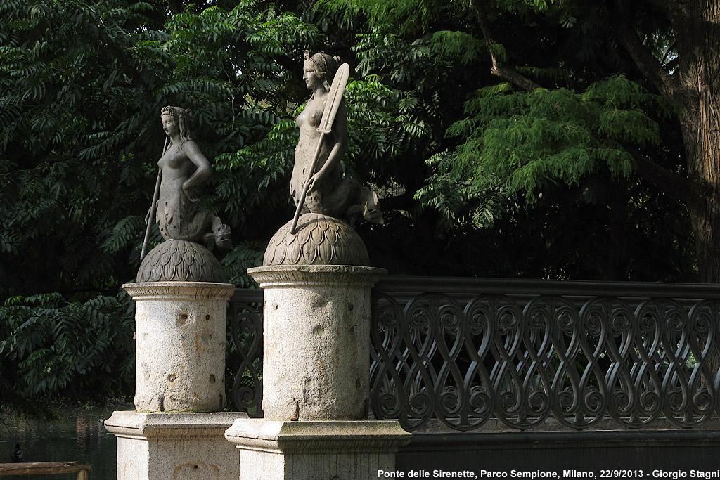 Il presente - Ponte delle Sirenette.