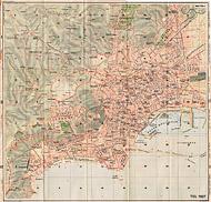 Citt� italiane, anni '20 - Napoli - TCI, 1927.